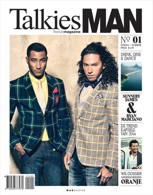 Cover TalkiesMAN No.01 2014