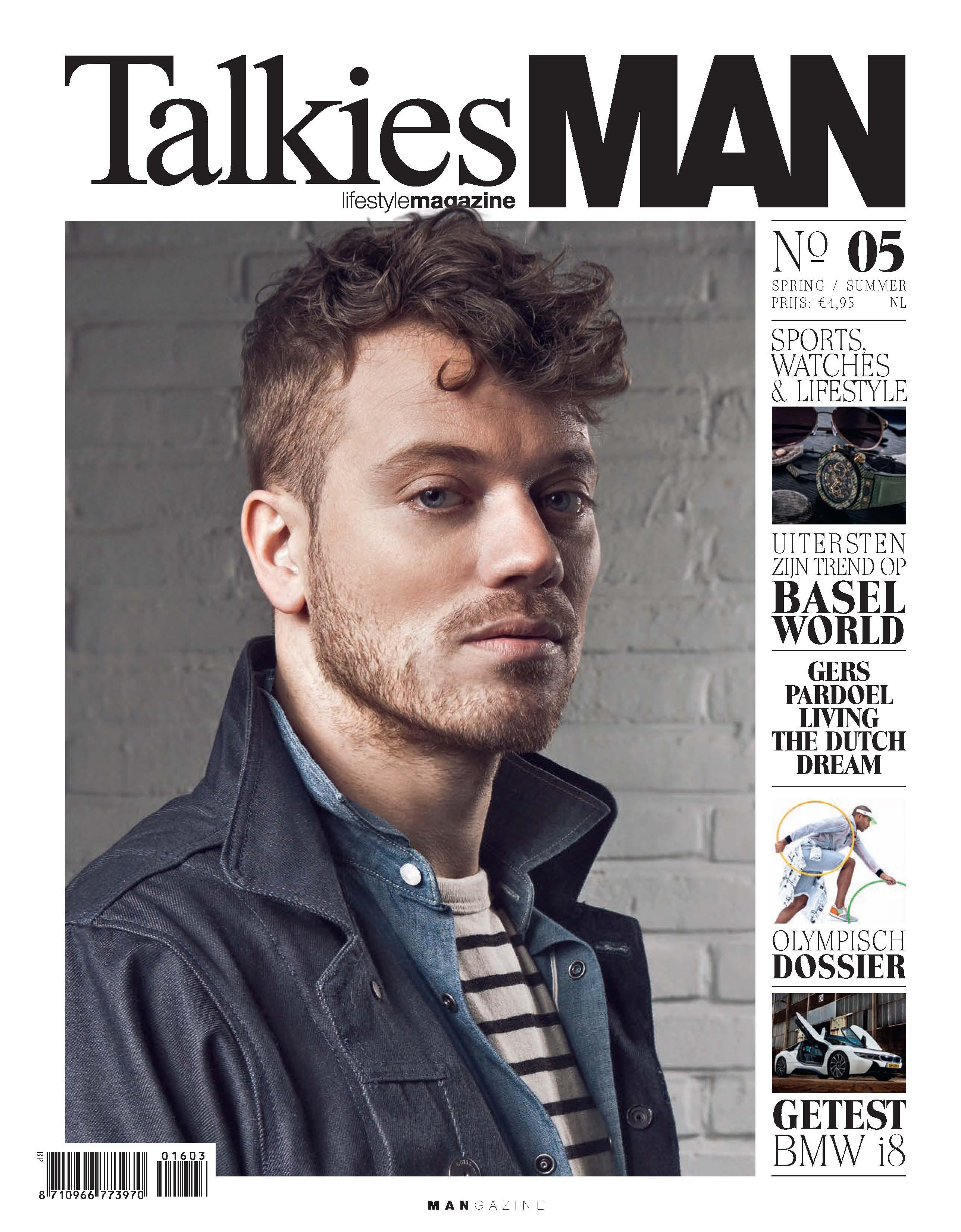 Cover TalkiesMAN No.05 2016